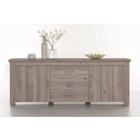 [ Alexis.two ] - Sideboard Nelson Eiche