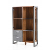 [ Freddy.four ] - Highboard mit Anthrazit